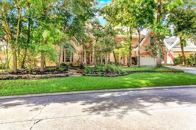 The Woodlands TX Single Family Home For Sale: $770,000