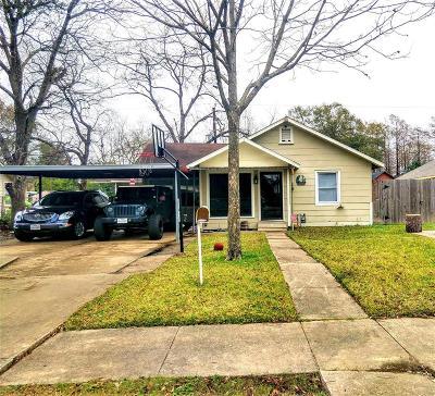 Pasadena Single Family Home For Sale: 306 W Houston Avenue