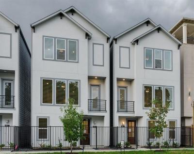 Houston Single Family Home For Sale: 916 W 35th Street #B