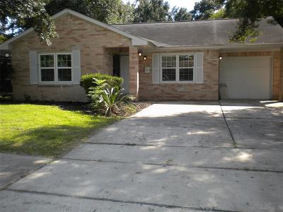 Harris County Single Family Home For Sale: 3730 Alberta Street