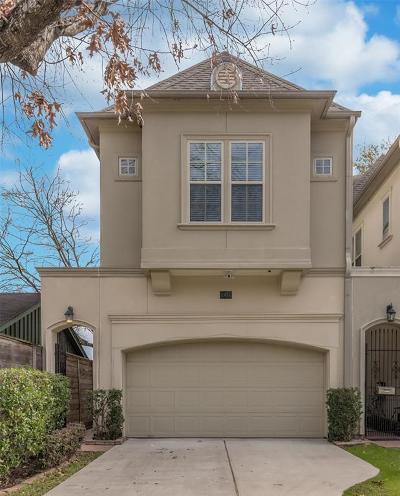 Houston Single Family Home For Sale: 1436 Nashua Street