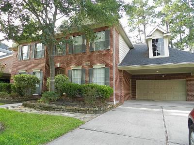 Kingwood Single Family Home For Sale: 2122 Fern Creek Trl
