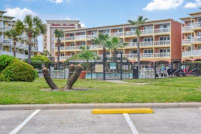 Galveston Condo/Townhouse For Sale: 6300 Seawall Boulevard #3303