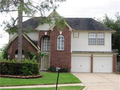 Pearland Rental For Rent: 2606 Brompton Drive