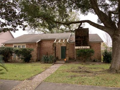 Houston Single Family Home For Sale: 16410 Havenpark Drive