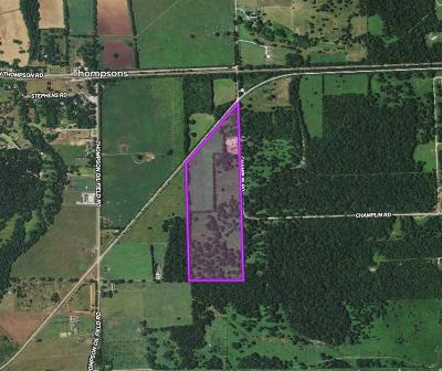 Fort Bend County Country Home/Acreage For Sale: Tbd Champlin Rd