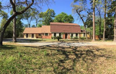 Houston Single Family Home For Sale: 17815 Red Oak Drive