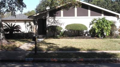Sugar Land Single Family Home For Sale: 1518 Hitherfield Drive