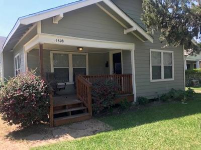 Houston Single Family Home For Sale: 4808 Oakland Street