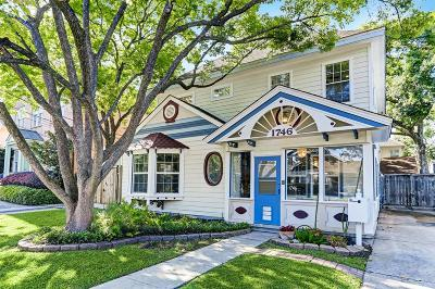 Houston Single Family Home For Sale: 1746 Maryland Street