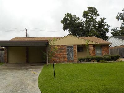 Pasadena Single Family Home For Sale: 2127 Chestnut Lane