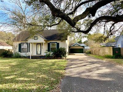Alvin Single Family Home For Sale: 813 W Sidnor Street