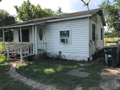 Columbus TX Single Family Home For Sale: $37,000