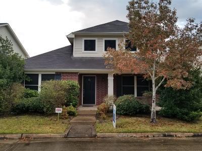 Houston Single Family Home For Sale: 11810 Longwood Garden Way