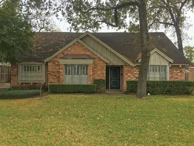 Houston Single Family Home For Sale: 442 Wycliffe Drive