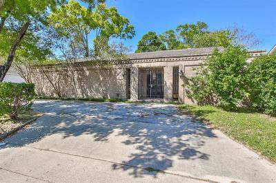 Houston Single Family Home For Sale: 6206 S San Felipe Street