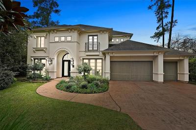 The Woodlands Single Family Home For Sale: 7 Bunnelle Way