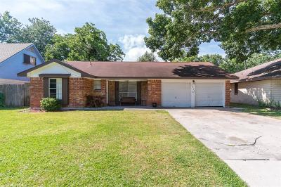 Seabrook Single Family Home For Sale: 1853 El Mar Lane