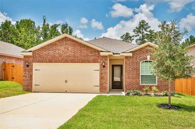 Willis, Montgomery, The Woodlands, Conroe, Shenandoah, Spring Single Family Home For Sale: 7614 Glaber Leaf Road