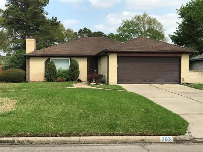 Pearland Single Family Home For Sale: 703 Flower Field Court
