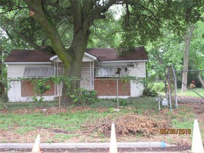 Houston Single Family Home For Sale: 3819 Pickfair Street