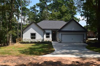 San Jacinto County Single Family Home For Sale: 18 Fern View Court Court