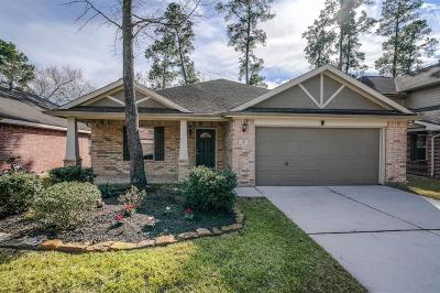 The Woodlands Single Family Home Option Pending: 31 N Star Ridge Circle
