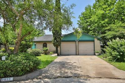 Houston Single Family Home For Sale: 2623 Woodwild Drive