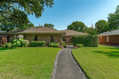 Houston Single Family Home For Sale: 7118 Northampton Way