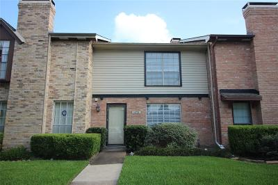 Houston TX Condo/Townhouse For Sale: $150,000