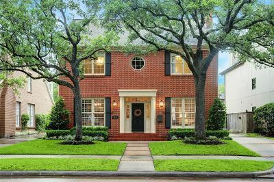 Houston Single Family Home For Sale: 2812 Jarrard Street