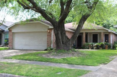 Houston Single Family Home For Sale: 9651 Yearling Circle