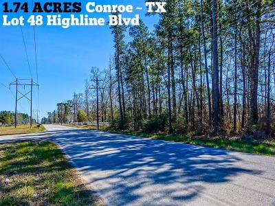 Conroe Residential Lots & Land For Sale: Lot 48 Highline Boulevard