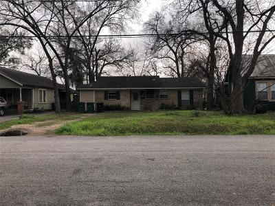 Houston Single Family Home For Sale: 1514 W 21st Street