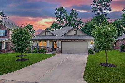 Conroe Single Family Home For Sale: 1702 Hickory Burl Lane