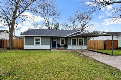 Houston Single Family Home For Sale: 630 W Virginia Street