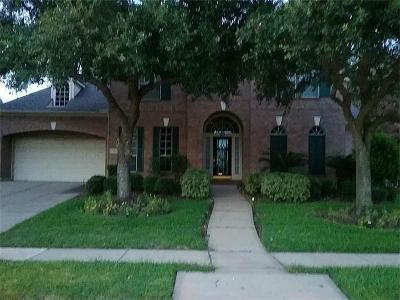 Missouri City Single Family Home For Sale: 3102 Sabine Point Way