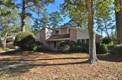 Kingwood Single Family Home For Sale: 2014 Deer Springs Drive