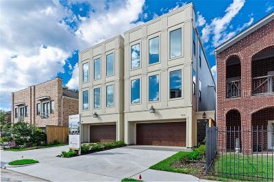Houston Single Family Home For Sale: 512 W W Clay Street