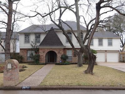 Katy Single Family Home For Sale: 20711 Cranfield Drive