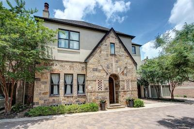 Houston Single Family Home For Sale: 1647 Bissonnet Street