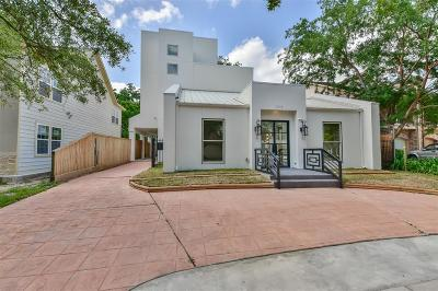 Houston Single Family Home For Sale: 2119 Banks Street