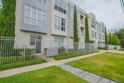 Houston Condo/Townhouse For Sale: 207 Pierce Street #301