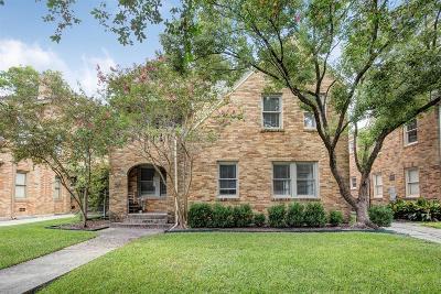 Houston Multi Family Home For Sale: 1818 Marshall Street