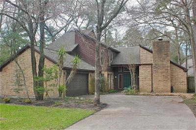 The Woodlands Single Family Home For Sale: 4 Knoll Pines