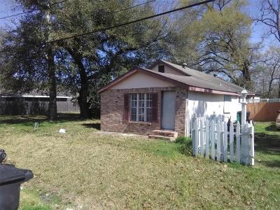 Houston Single Family Home For Sale: 5920 Bacher Street