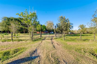 Wharton County Farm & Ranch For Sale: 4705 Baldwin Drive