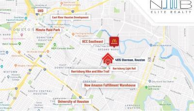 Houston Residential Lots & Land For Sale: 4615 Sherman Street