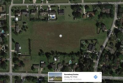 Crosby Residential Lots & Land For Sale: Beta Avenue