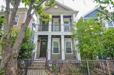 Houston Single Family Home For Sale: 424 W 27th Street #B